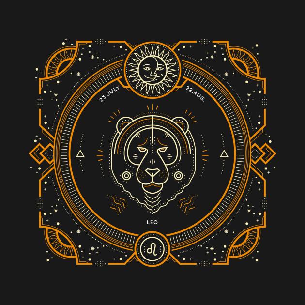 Leo Sacred Symbol