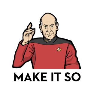 Make It So: Patrick Stewart as Jean-Luc Picard