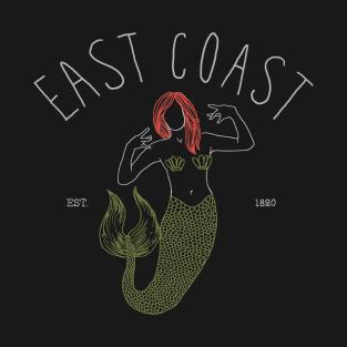 East Coast t-shirts