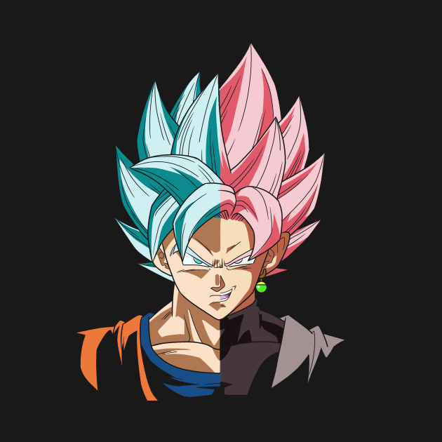 Goku Vs Goku Black - Anime - T-Shirt