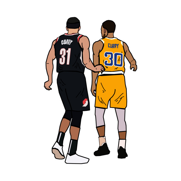 Steph Curry x Seth Curry 'Splash Brothers' - Portland Trailblazers/Golden State Warriors
