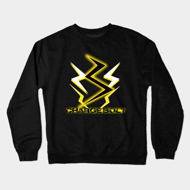 Kaminari Charge Bolt Design My Hero Academia Crewneck