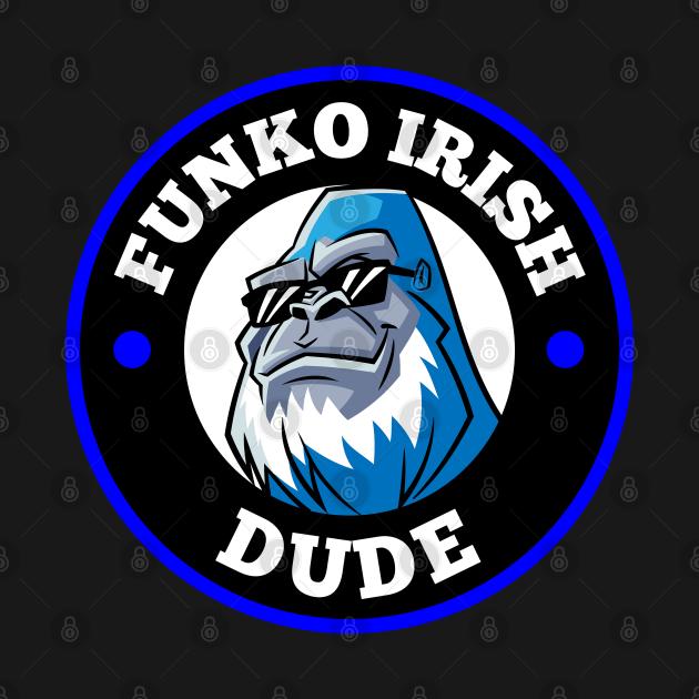 FUNKO IRISH DUDE (BLUE)