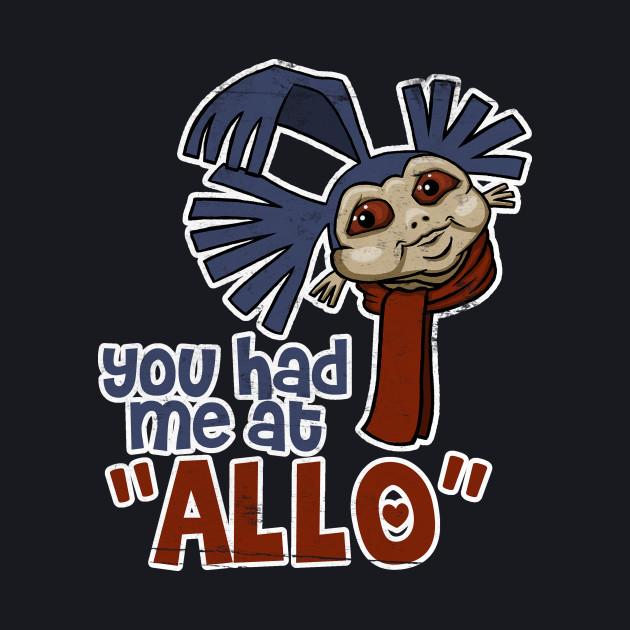 """You Had Me at """"Allo"""""""