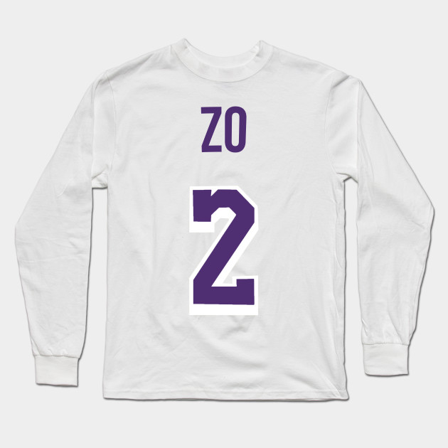 online store 99762 23d3c Lonzo Ball 'ZO' Nickname Jersey - Los Angeles Lakers
