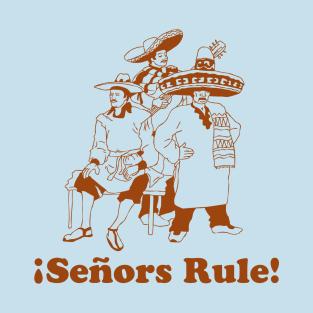 Senors Rule t-shirts