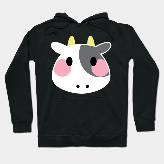 89393459f Adorable Baby Cow Cartoon Blush Cute Animal Lover - Cow Emoji ...
