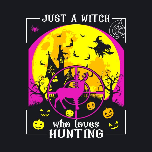 Retro Hunting Halloween