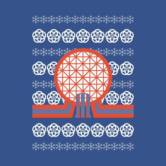 Epcot Ugly Sweater