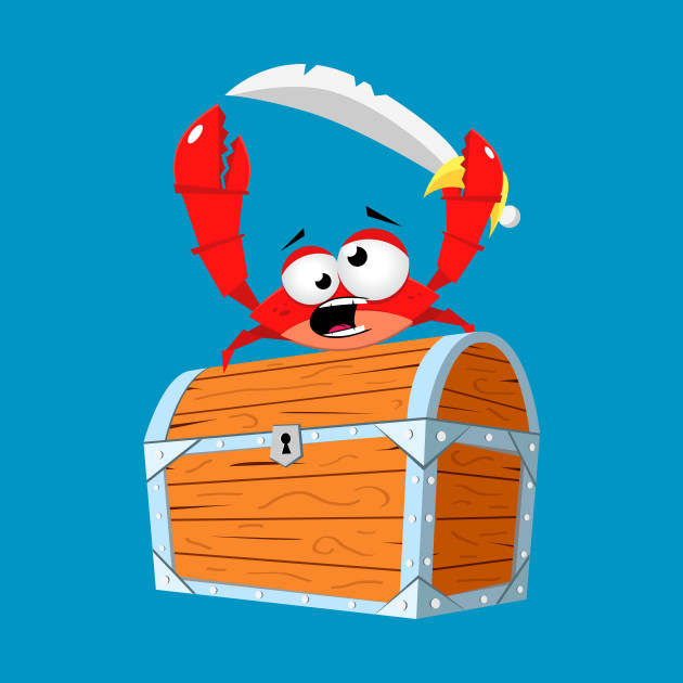 pirate crab pirate t shirt teepublic