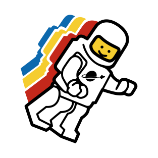 Floating Spaceman t-shirts