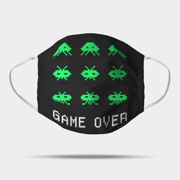 Game Over - Retro Arcade Gaming Pixel Art