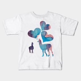 Llamas Kids T-Shirts | TeePublic UK