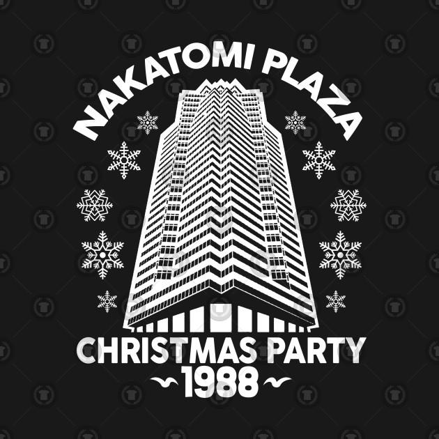 Nakatomi Plaza Christmas Party 1988 Christmas Shirt