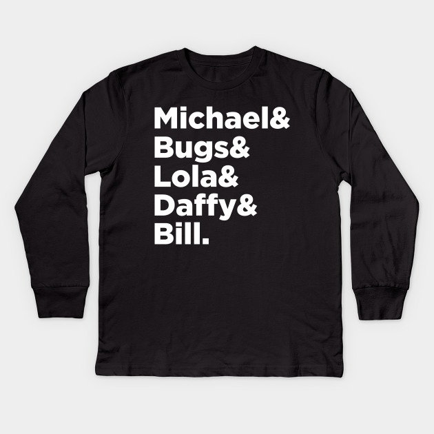 583cbd64 Tune Squad Line-up T-Shirt - Spacejam - Kids Long Sleeve T-Shirt ...
