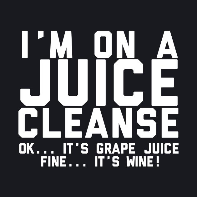 On A Juice Cleanse Wine Brunch