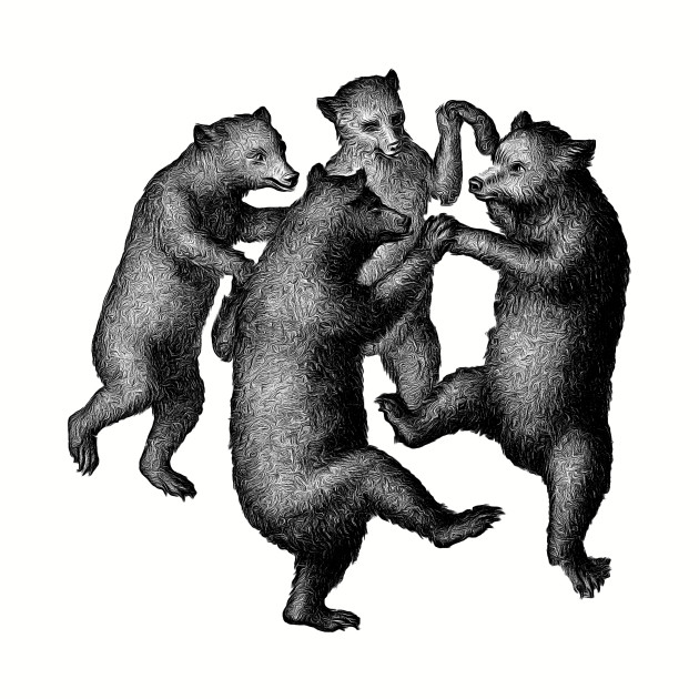 Frolicking Bears