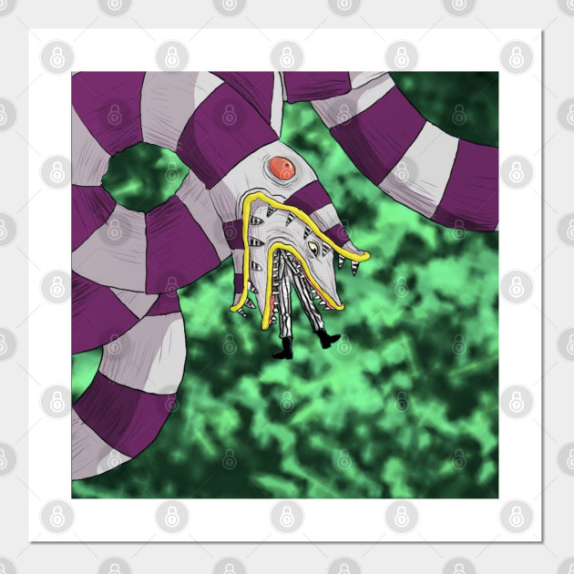 Sandworm Beetlejuice Beetlejuice Posters And Art Prints Teepublic