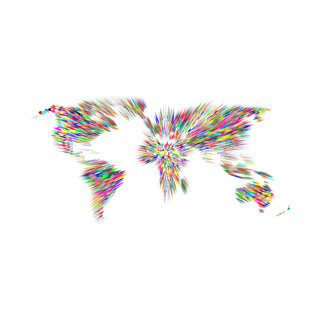 Limited edition exclusive colorful zoom motion blur world map 1525948 1 gumiabroncs Gallery