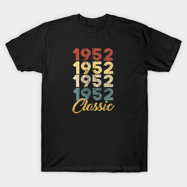 67th Birthday Gift for Men and Women Born in 1952 Classic 67th Birthday Party