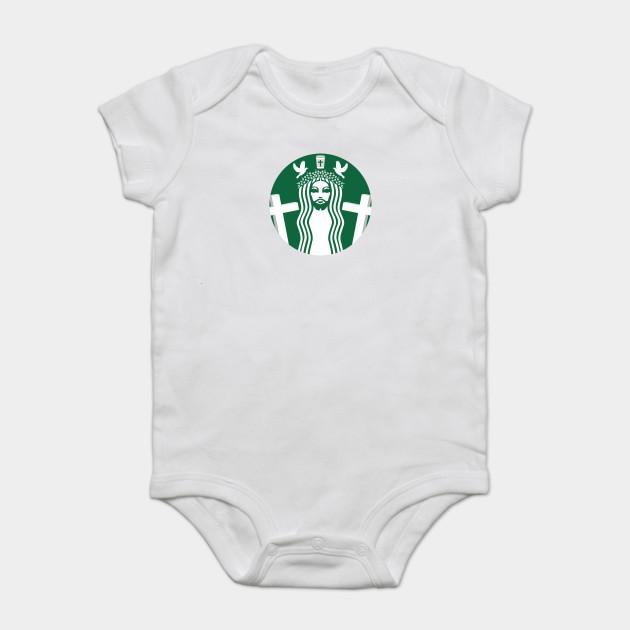 d8352a42c Shining Starbucks - Starbucks - Onesie   TeePublic