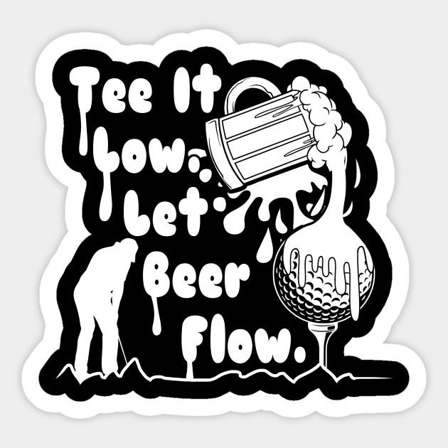 Best Beer 2020 best beer golf shirt 2020   Golf   Sticker | TeePublic