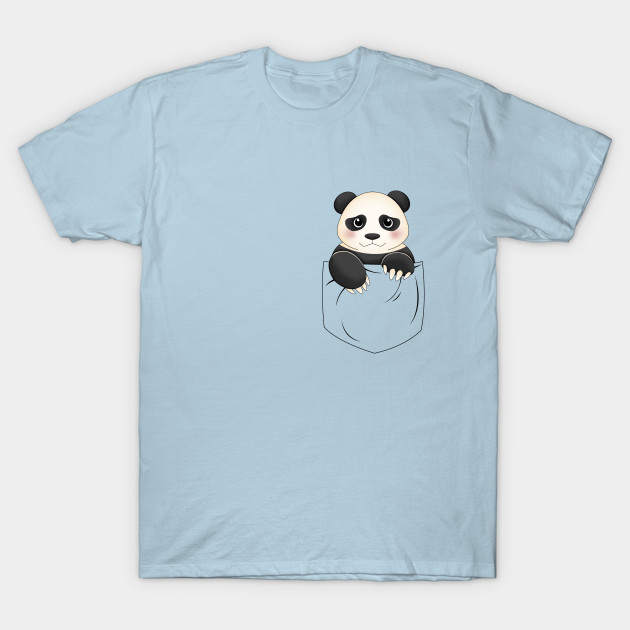 Cute Panda Pocket Design Cute Panda T Shirt Teepublic