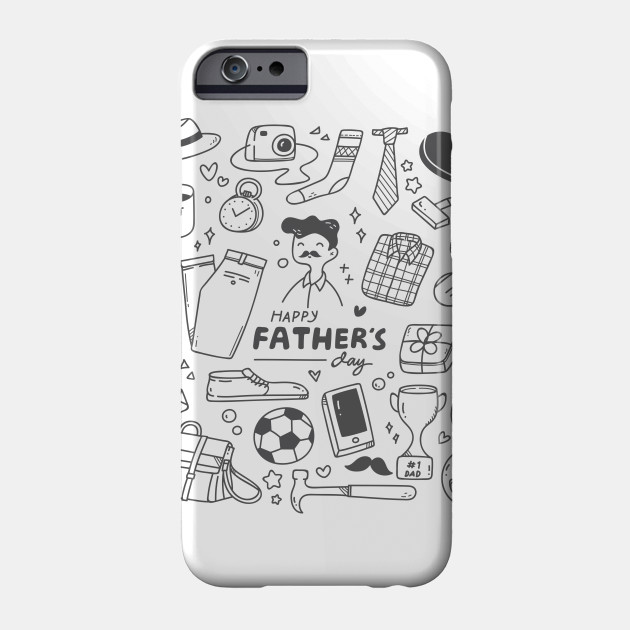 Father Day  - Happy Father Day Phone Case