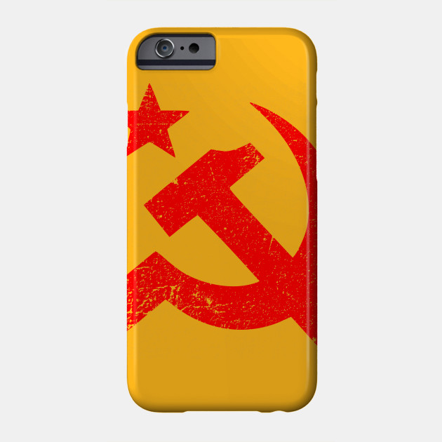 Soviet Symbol Distressed Soviet Union Phone Case Teepublic