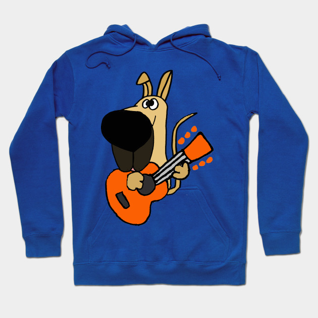 3b909c53 Funny Great Dane Playing Guitar - Great Dane - Hoodie | TeePublic