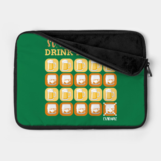Cool Beer and Shot Drink Tracker Saint Patrick's Day