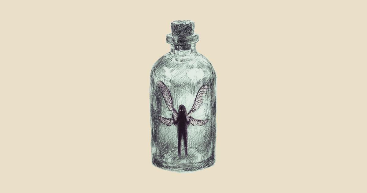 Fairy In A Jar Fairy Tote Teepublic