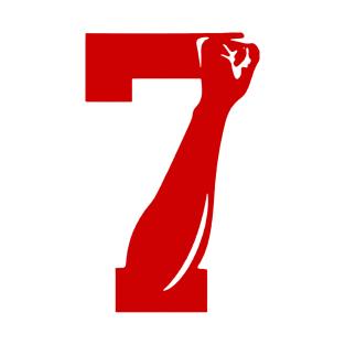 5b01c3595948b Number 7 Limitied Edition T-Shirt. by kiratata.  20. Main Tag Colin  Kaepernick ...