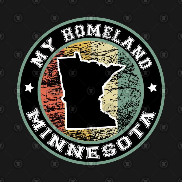Homeland Minnesota state USA vintage