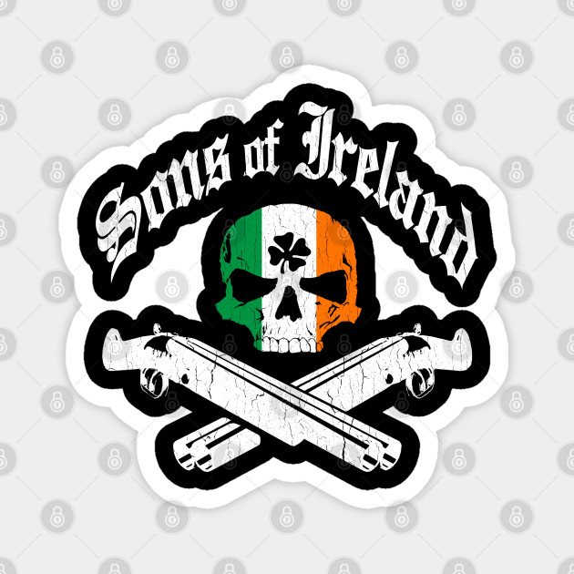 Sons of Ireland (vintage distressed look)