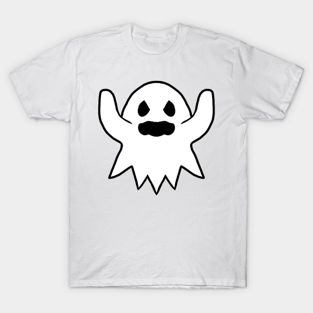 Angry Ghost T-Shirt-TOZ