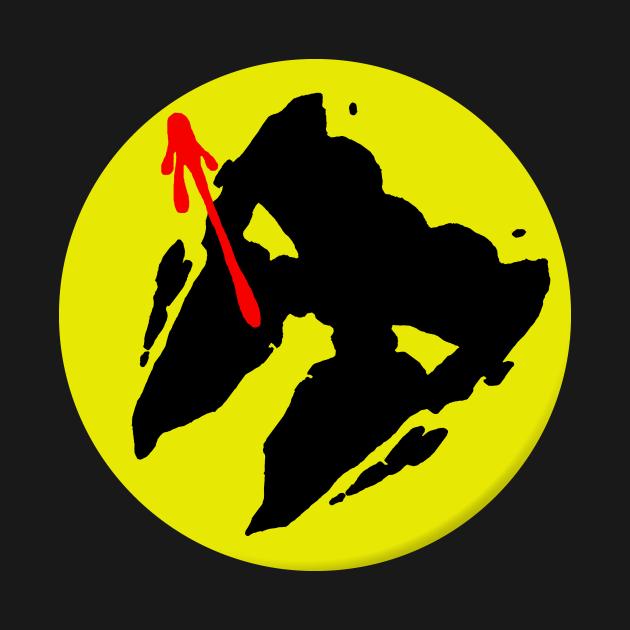 Rorschach Watchmen Button