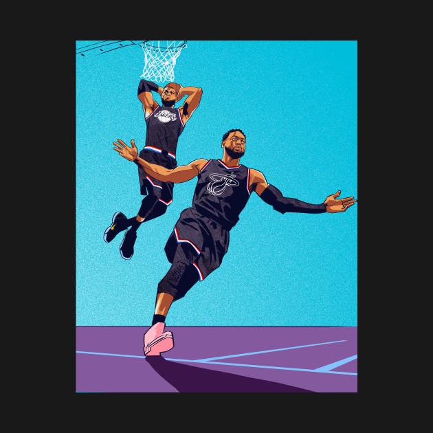 The Last Lob: Wade to LeBron