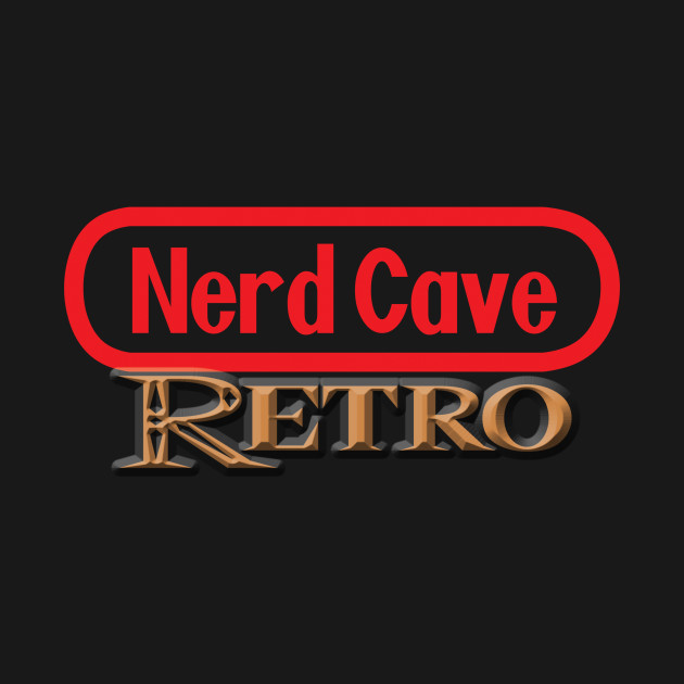 Official Nerd Cave Retro Podcast Tee!