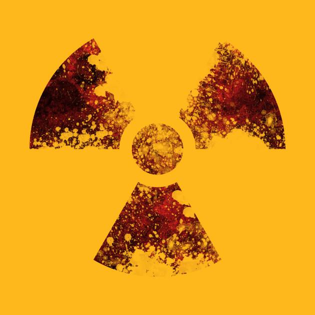 Radioactive Symbol Radioactive T Shirt Teepublic