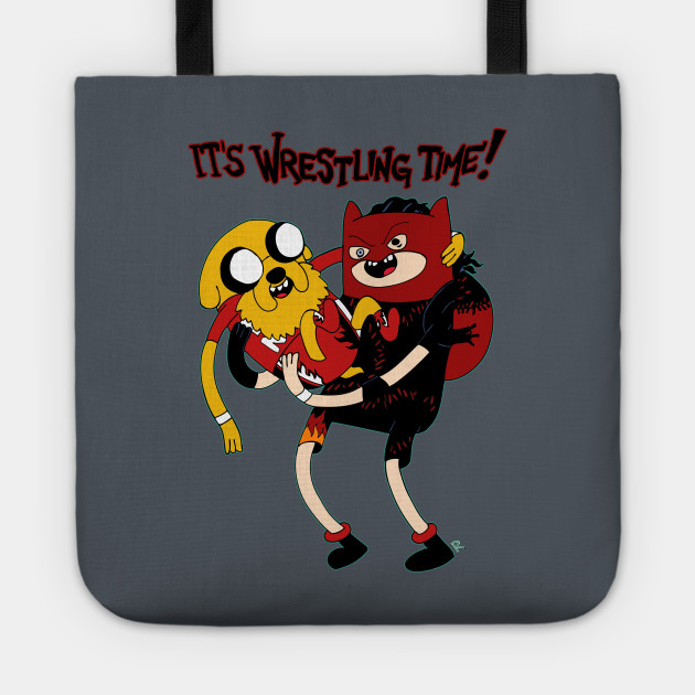 Wrestling Time With Team Heck Naw Wrestling Tote Teepublic