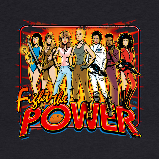 SuperWomen of the 80s - Fight The Power!