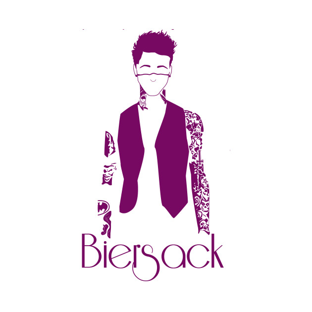 The Purple Tattoos of Andy Biersack