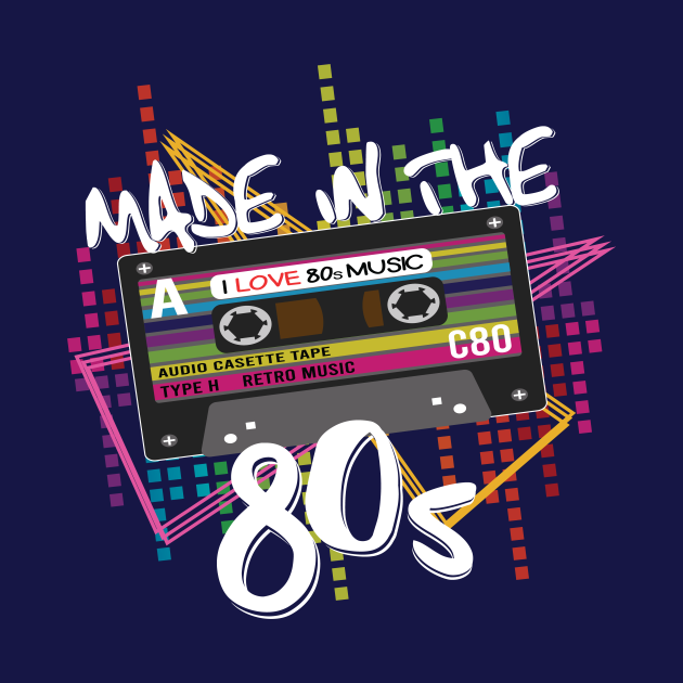 Made in The 80's Retro Shirt