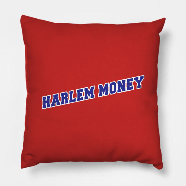 139102c5b14 Harlem Money Rucker Park Basketball Team - Harlem - Pillow | TeePublic