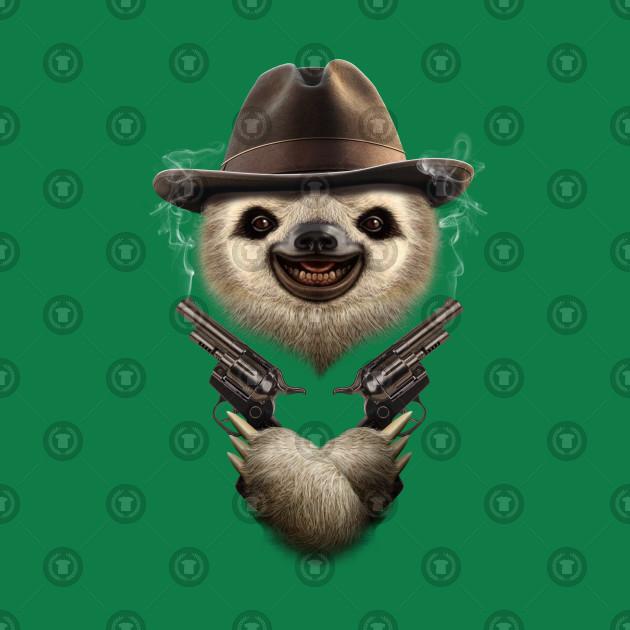 776bff84960 SLOTH COWBOY - Sloth - T-Shirt
