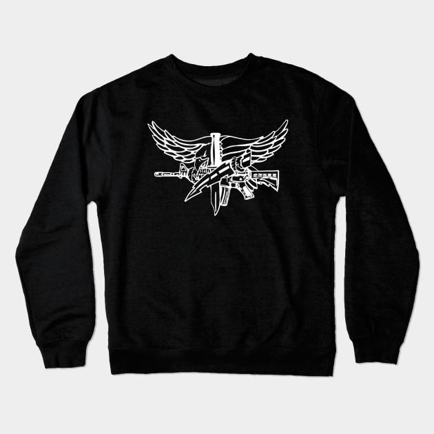 SWAT Eagle Light - Police - Crewneck Sweatshirt   TeePublic