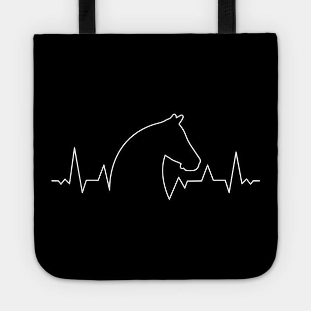 Horse Heartbeat Horse Sweatshirt Equine Horse Lover Rider Graphic Hoodie