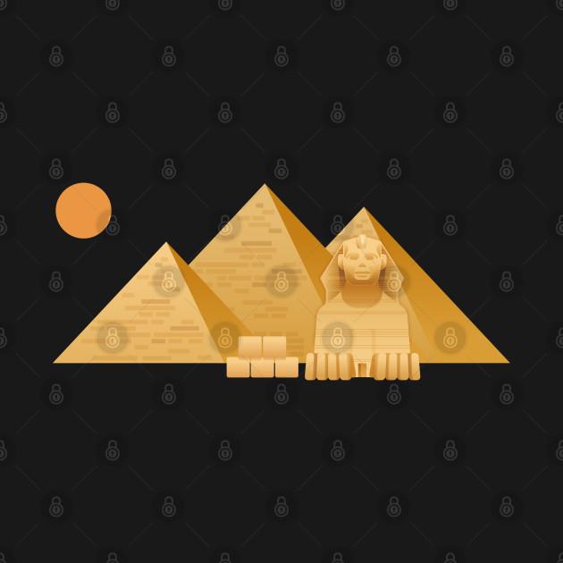 The pyramids Egypt T-shirt