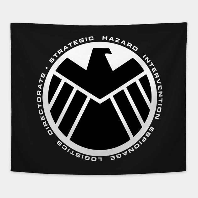 Shield Organization Symbol Agent Of Shield Tapestry Teepublic